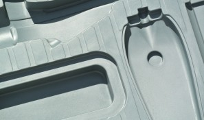 Polyurethane moulded transit case liner protects Phaser and accessories