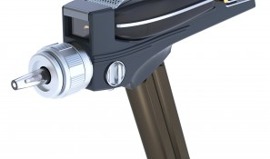 Phaser with grille and sight raised