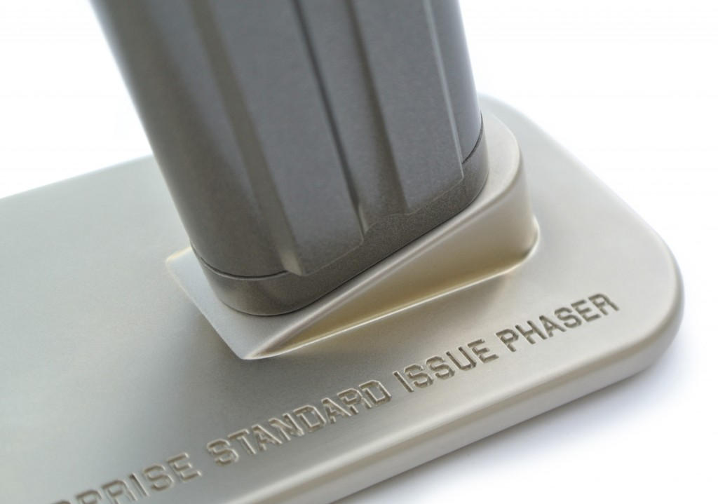 Star trek phaser the wand company for Metallic farben fa r die wand
