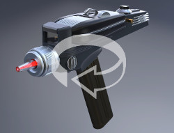 360 degree view of the Phaser