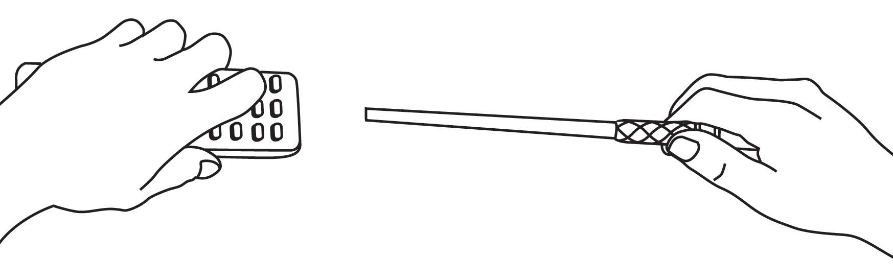 Programming the wand