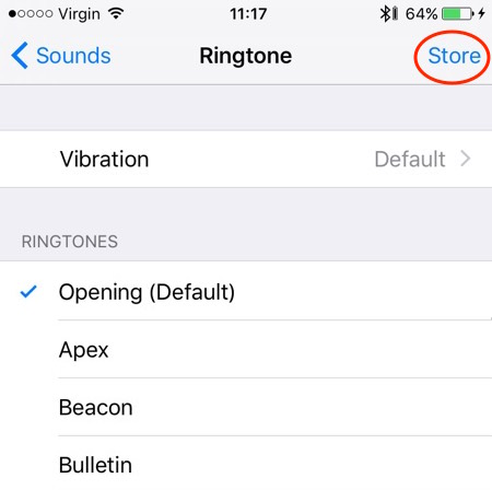 iphone opening default ringtone mp3