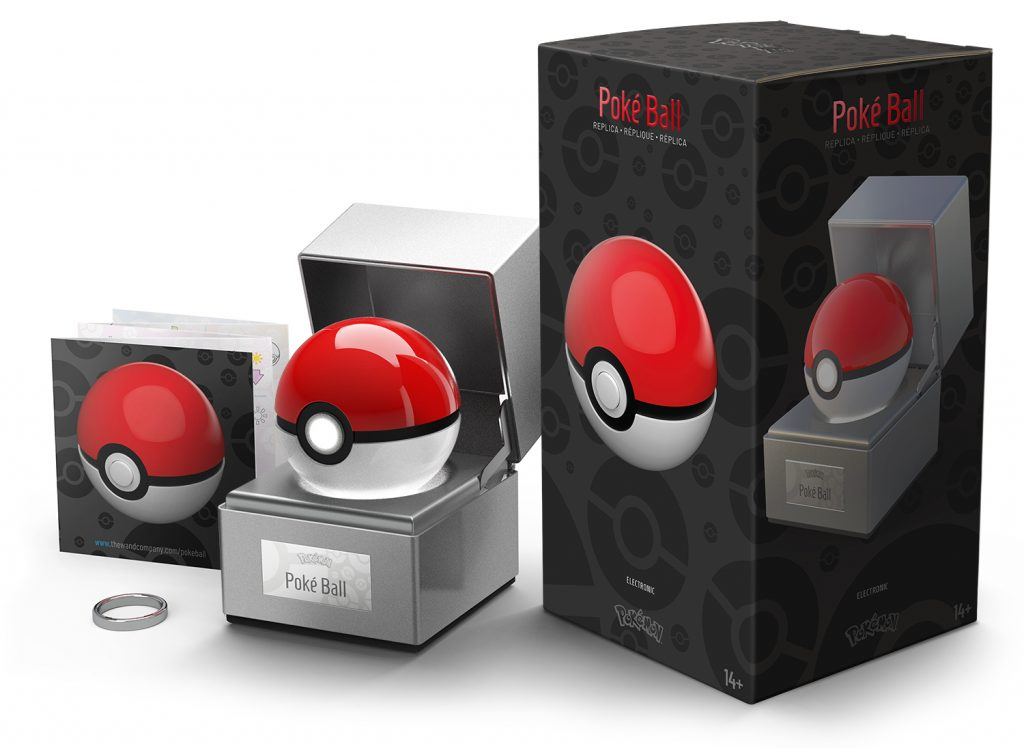 Poké Ball packaging contents