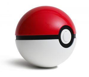poke ball on table